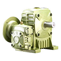 Double Worm Gear Reducer - Flange Type