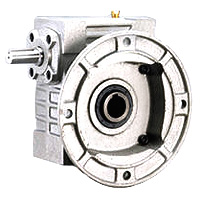 Single Hollow Worm Gear Reducer - Hollow Flange Type