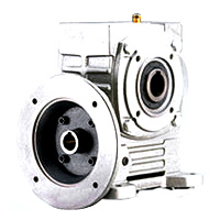Single Hollow Worm Gear Reducer - Hollow Type With Output Flange
