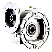 Single Hollow Worm Gear Reducer - Hollow Flange With Output Flange