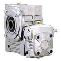 Double Hollow Worm Gear Reducer - Standard Hollow Type