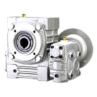 Double Hollow Worm Gear Reducer - Hollow Flange Type