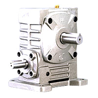 Single Universal Worm Gear Reducer - Univeral Type With Output Shaft