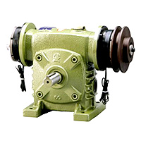 Worm Gear Reducer Combination Type - Clutch / Brake