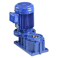Special Worm Gear Reducer - Coaxial Type