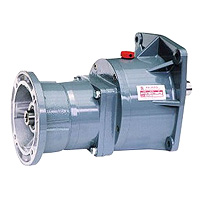 Small Gear Reducer-Input Flange Type Gear Reducer Motor 1 / 8HP (0.1KW)