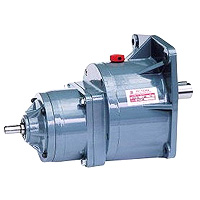 Small Gear Reducer-Double Shaft Type Gear Reducer Motor 1HP (0.75KW)