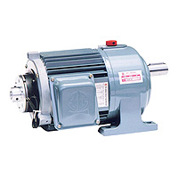Gear Reducer Motor -3 - Phase (DC24V Power For Brake Unit) Gear Reducer Motor 1 / 2HP (0.4KW)